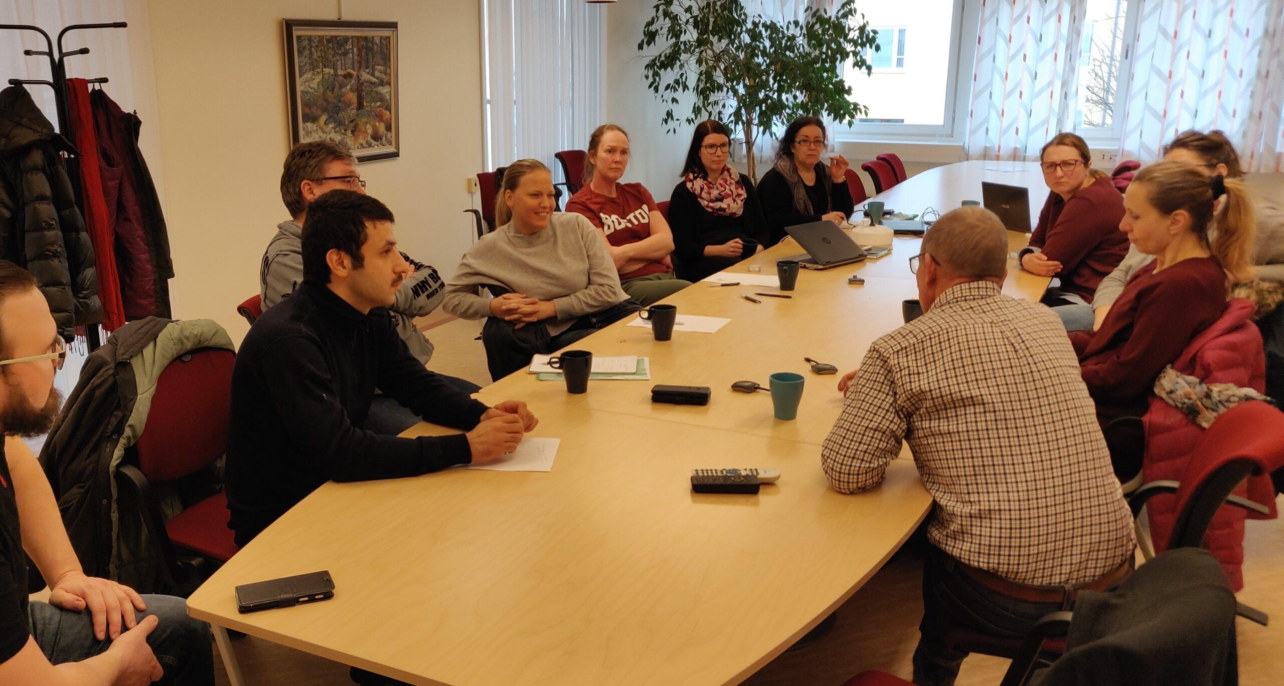 CSA-projekt med Måltidsservice i Strängnäs