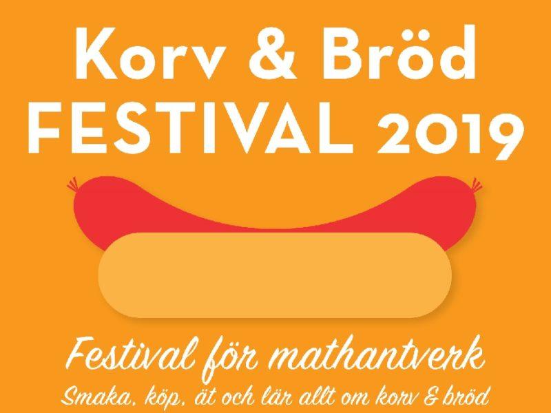 Korv & Bröd FESTIVAL 2019 – annons i samarbete med …