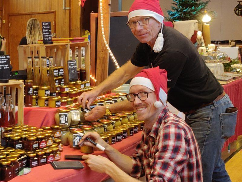 Julmarknad på Wik 2019 + två boktips