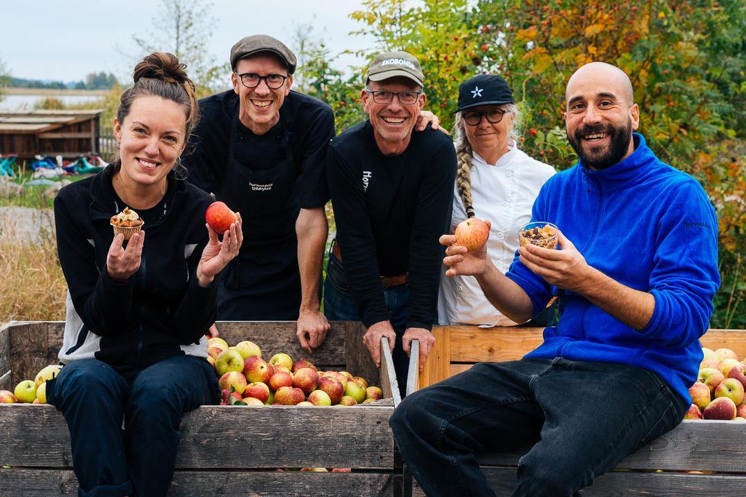 Äppelkriget – resultat och vinnarrecept